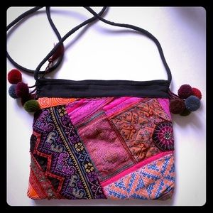 Authentic Mexican Patchwork Crossbody